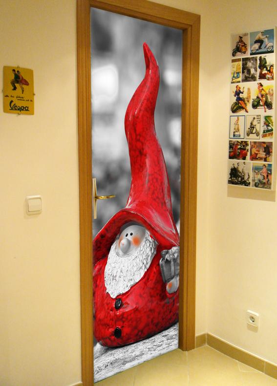 Navidad en tus puertas doordresser for Decoracion en puertas de navidad