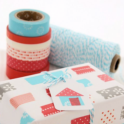 Decoración washi tape