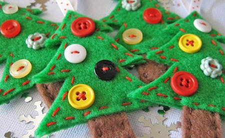 Arbol Navidad DIY Fieltro