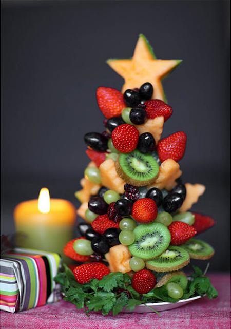 Centros de mesa DIY Navidad