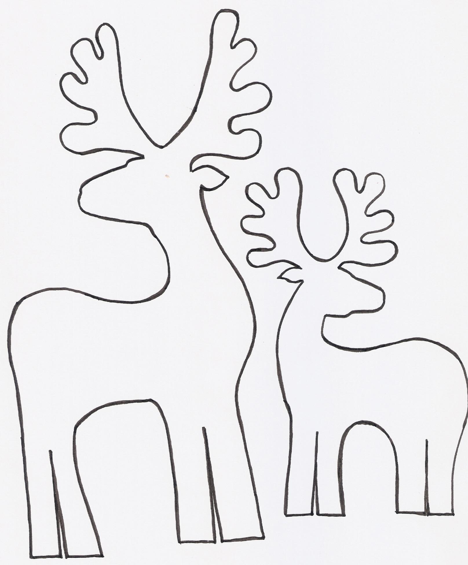 Plantillas Para Decorar Ventanas En Navidad.Recortables Para Navidad Doordresser Doordresser Blog
