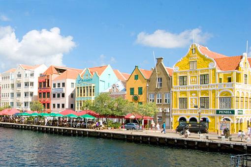 Fachadas de colores, Curacao