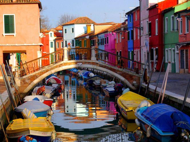 Fachadas de colores. Burano, Venecia