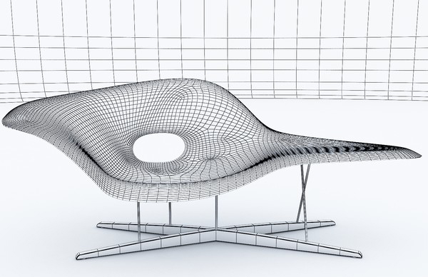 La Chaise large Charles Eames