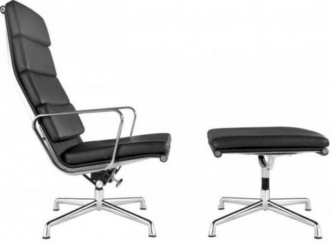 Soft Pad Group Chair EA 222 Charles Eames