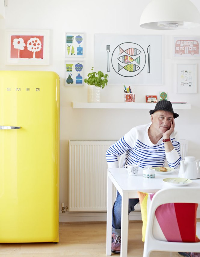 Cocina Ikea nevera SMEG