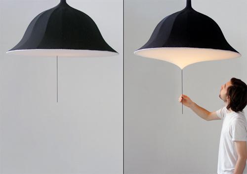 Decoración con paraguas