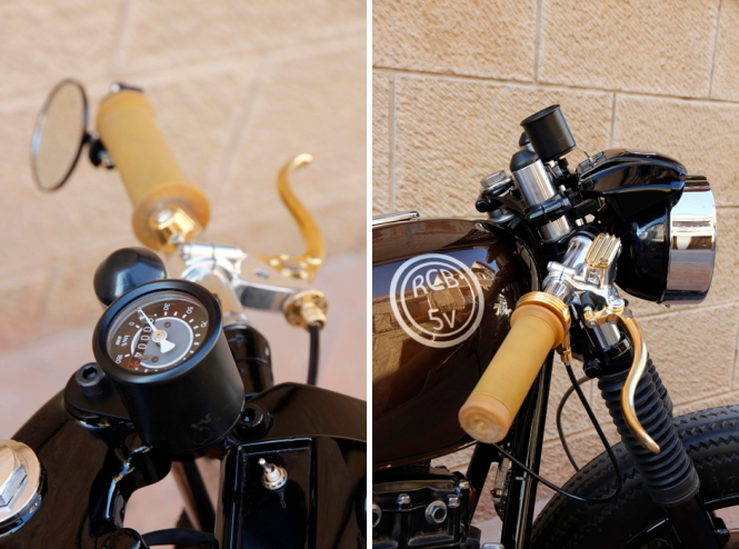 Retrocustombikes 5V. Fortyfour
