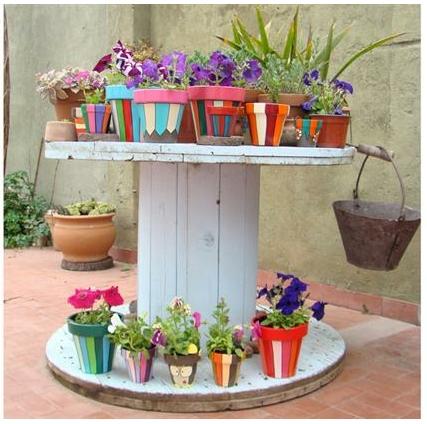 Tus flores como en casa doordresser doordresser blog - Telas para terrazas ...