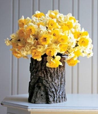 Flores naturales. Decorar con flores