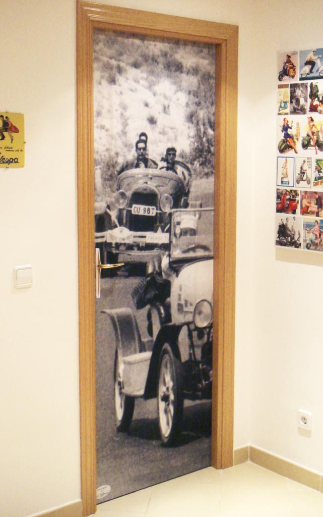 Colección Motor. Fundas de puertas DoorDresser